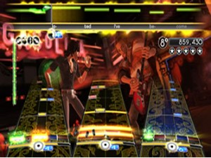 rock band xbox 360 music game